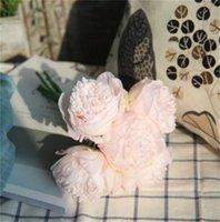 Grande Peônia Cabeças Da Flor Partido Parede Wedding Road Levado Arco DIY Decoração Peônias Flowers Artificial Flores Flores Artificiales 1974 v2