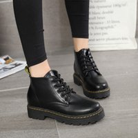 2021 Ankle Boots Women Boots Pu Leather Shoes for Winter Boots Shoes Woman Casual Spring Leather Botas Mujer Female Plus 1