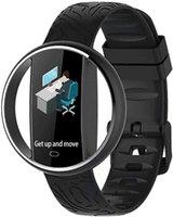 Amazon FBA E99 Smart Watch Fitness Tracker Monitor de ritmo cardíaco Step Calorie Contador impermeable Pulsera de banda para mujeres Hombres EE.UU. Warehouse US CA CA México Dropshipping