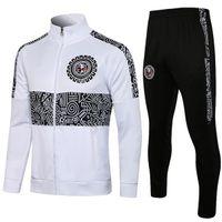 2021 Mexiko Liga MX Club America Giovani Trainingsanzug Fussball Jacke Anzug C.Blanco Full Zipper Fußball Sportbekleidung Trainingssets 2122