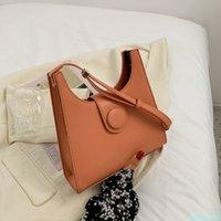 Solid Color Crossbody Bag PU Leather Women's Designer Handbag Female Travel Shoulder Messenger Bag