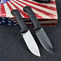High Quality BK2 Outdoor Survival Straight Hunting Knife D2 Drop Point Blade Full Tang G10 Handle Fixed Blades Knives With Kydex