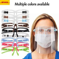 حماية أقنعة الوجه درع مع حامل الزجاج السلامة النفط-سبلاش دليل مضاد للأشعة فوق البنفسجية غطاء واقي شفاف قناع نظارات الوجه