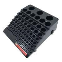 صناديق التخزين صناديق 1 قطعة القاطع مربع الحفر طحن توفير مساحة متعددة الوظائف الانتهاء حالة حامل المنظم للاستخدام المنزلي