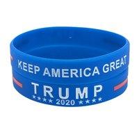 Trump 2024 pulsera de silicona negro azul rojo pulsera fiesta favorece 4 colores RRB9000