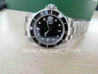 Super Version Смотреть винтажные часы Мужская автоматическая BP Factory 2813 Античные мужчины Черный зеленый сплав бешель сталь 50-летие 16610 погружение на наручные часы