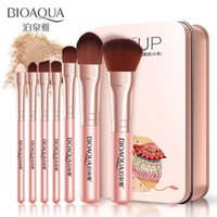 7pcs set Hot Selling Makeup Brushes Set Blusher Brush Eyesha...