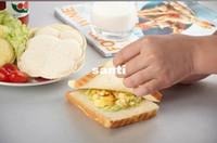 Nuovo arrivo pratico fai da te a forma di cuore sandwich maker torta biscotti bambini pranzo pane stampo cibo taglierina