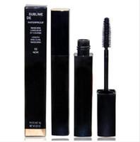 24pcs Livraison gratuite Nouveau maquillage Beauté Mascara étanche Noir 6g (24pcs / Lot)