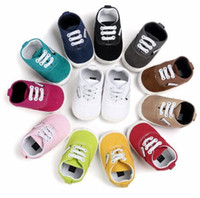 ROMIRUS New design Baby Canvas shoes Lace- up boys Moccasins ...