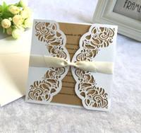 доступные лазерная резка свадебные приглашения девичник пригласительные открытки с конвертом и пустой карты 200 шт. много бесплатная доставка