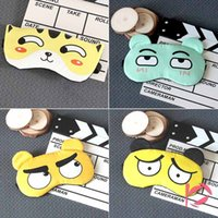 17 Style 3D Cartoon Face Sleep Mask Ice bag Cover Travel Res...