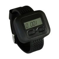 SINGCALL Wireless-System, Smart-Uhren, Kellner von Uhr erhalten Kundenanfragen Service-Informationen.