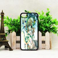 Para iphone 8 7 6 6 s plus case personalizado anime série sublimação tpu casos de telefone celular tampa traseira