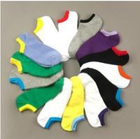 Toptan Satış-Toptan satış! 1Lot = 20pairs = 40pcs spor Çorap ABD emici çorap erkek çorap görünmez ter yaz terleme ABD boyutu 7-11 yeni