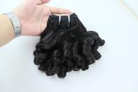 Königin funmi Haar 8-30inch 3pcs preiswertes brasilianisches Haar geben Verschiffen frei Indische peruanische Jungfrau brasilianische Haar spinnt