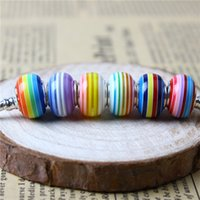 Mix Colors Charm Bead 925 Silver Plated Fashion Women Jewelry Stunning European Style For Pandora Bracelet Necklace
