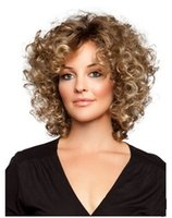 ZhiFan curly wigs look natural hair wigs for black girls wig...