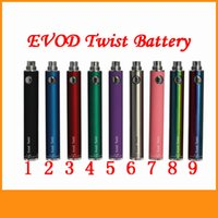 Evod Twist Battery 650 900 1100 1300mah Variable Voltage 3. 2...