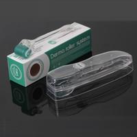 micro derma sistema de rolamento dermaroller 192 agulhas de aço inoxidável dermaroller