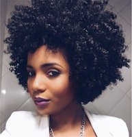 Z&F Afro Wigs African Black Curly Short Wigs For Black Women...