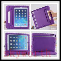 Дети Дети Ручка Подставка EVA Пена Противоударный Чехол Стенд Для iPad 2 3 4 воздуха Mini 4 чехол galaxy tab 3D Милый портативный