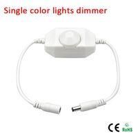 Mini LED Parlaklık 3528 5050 5630 için Anahtarı Dimmer Denetleyici Ayarla Tek Renk LED Şerit Işık LED Dimmer 12 V, 24 V