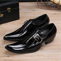 2017 New style Italian Luxury Mens Formal Shoes Business Dre...