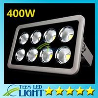CE UL + IP66 COB 400W LED 투광 조명 높은 전원 야외 홍수 빛 LED 주유소 조명 방수 LED 캐노피 조명 AC 85-265V 444