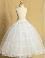 Hochzeitsfeier Kind Ballkleid Petticoat für Blumenmädchenkleid