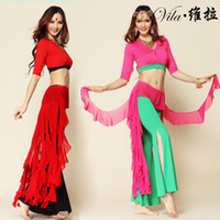 2017 New design belly dance Practice costume dancing wear for belly dance women indian dance cloth