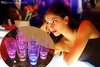 6.8 * 18 cm Ciecz Active LED Flashing Cups -World -shot, migający kubek, filiżanka migająca LED, mała filiżanka