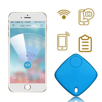 Bluetooth Tracker Bag Wallet Clé Pet Smart Finder Mini GPS Tracker GPS Locator Alarme Build-in Google carte pour rechercher votre objet perdu
