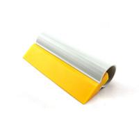 7 * 14см резиновый ракель Декаль Wrap Аппликатор Soft tubor скребок для тонирования воды извлекая MO-45G