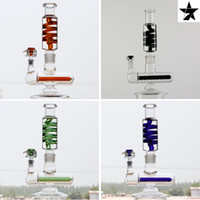 13 inch Freezable coil system Glass Bongs Glass water Pipes ...