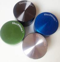 1 STÜCKE Sharp Stone herb metal schleifer SharpStone 4 teile Hard top tabak Schleifer Durchmesser 30mm 40mm 50mm 63mm 6 farben schleifer tabak