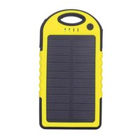 Portable Solar Battery Charger Panel 2 USB Ports 5V Mobile P...