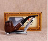 Le nouveau tournevis portable à double usage Plug-in Bent Bakelite Pipe Men 's Hammer Mini Pipe