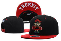 Lo último Popular Snapbacks Hip hop Patrón Sombreros monopatín Boy Trukfit bordado gorras de béisbol tapas Huesos Gorras Toca para Hombres Mujeres