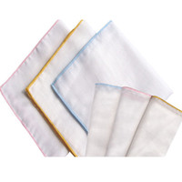 Wholesale- G054 10pcs lot Baby Double Four Layer Muslin Cott...