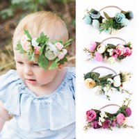 Baby Rose Flower Crown Headband Girl Wedding Party Festival ...
