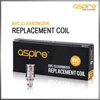 100% originale Aspire BVC bobine testa per Aspire BDC atomizzatori CE5 CE5S ET ETS Vivi Nova Mini Vivi Nova BVC bobine sostitutive Authentic
