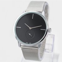 2017 Fashion Dress Quartz Watch Man Women Steel Brand Watch ...