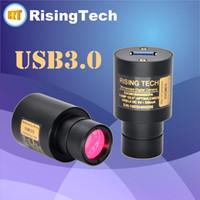 Freeshipping 5.0MP USB3.0 CMOS 현미경 접안 렌즈 카메라 23.2 지름 및 컴팩트 사이즈 비디오 디스플레이