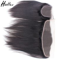 Tangle Free brazilian human hair bundles with frontal cuticl...