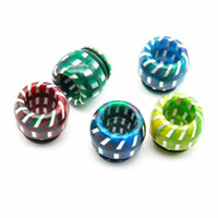 810 Epoxy Resin Drip Tip Stainless Steel Pattern Wide Bore D...