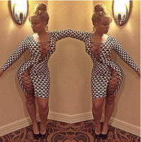 Bodycon Dresses New Sexy Bandage Party Club Dress Women'...