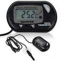 Aquarium LCD Display Digital Fish Tank Water Thermometer w ...