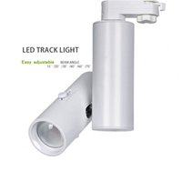 Zoom avant Zoom arrière Angle de faisceau réglable 10W 15W 20W 15 20 30 60 70 Adaptateur LED pour rail de lumière LED