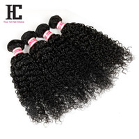 7A Brazilian Curly Hair 4 Bundles Brazilian Curly Hair Weave...